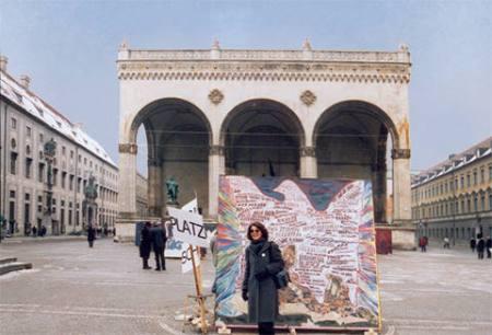 ZUGINSFELD 18 bei Kriegs Schau Platz 2003 München