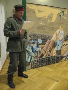 ZUGINSFELD-Deklamation von Thomas Wipf im Goethe-Institut Dresden 2006