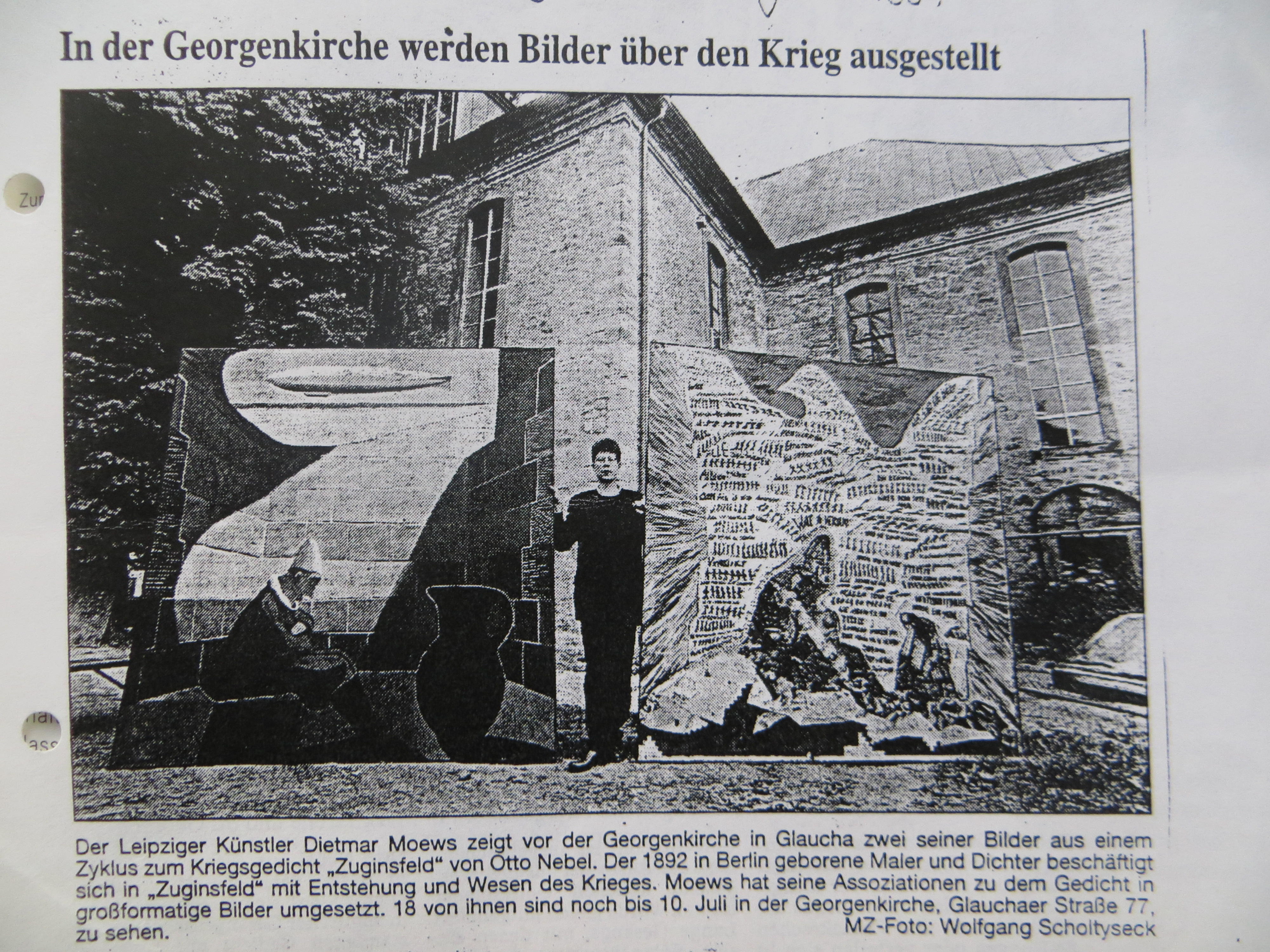 Mitteldeutsche Zeitung v. 25. Juni 1997