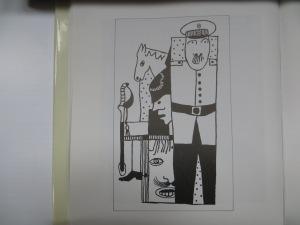 Zuginsfeld von Otto Nebel Nr. 31 - Tuschezeichnung mit Deckweiß auf Papier