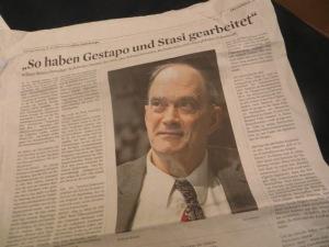 William Binney im Kölner Stadt-Anzeiger vom 15. Februar 2014