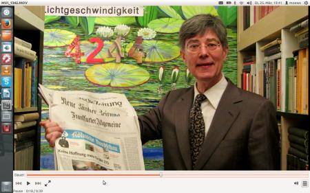 Dr.Dietmar Moews in Köln am 25. März 2014