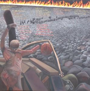 """ZUGINSFELD gemalt von Dietmar Moews """"Das ist Ihr Fall..."""""""