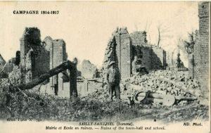 Sailly Ardennen Campagne 1918-1918