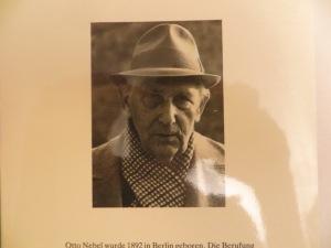 Der alte Malerdichter Otto Nebel um das Jahr 1970 in Bern