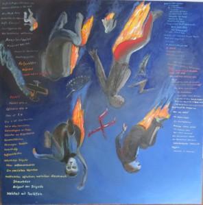 ZUGINSFELD 38 Clavigo gemalt von Dietmar Moews Berlin 2012 Öl auf Leinwand 190/190cm