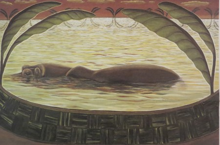 "Dietmar Moews ""The beautiful bugger"" DMW 276.25.80, Öl auf Leinwand 200 / 300 cm, in Hannover gemalt"