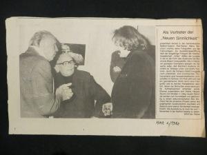 Kurt Sohns Maler, Umbo Photograf, Rolf Reiner Maria Borchard Lyriker