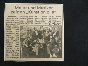 BILD Hannover Ankündigung 3. 3. 1980