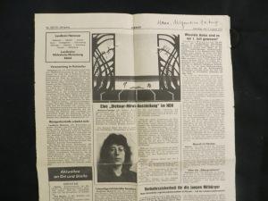 Hannoversche Allgemeine Zeitung am 8. August 1977