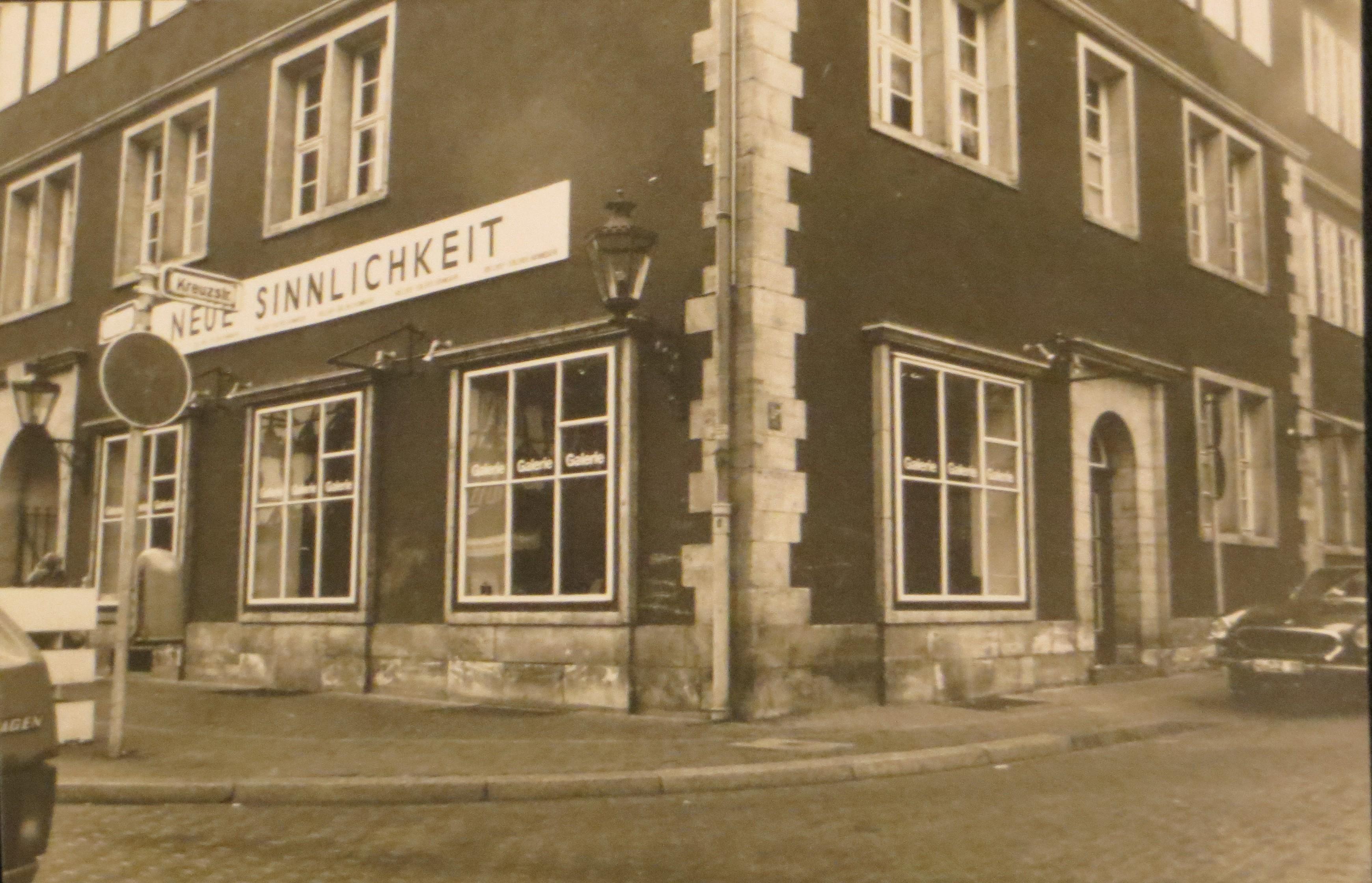 Ballhof-Galerie Hannover von Dietmar Moews 1980, Hannover Altstadt Ballhoftstraße 8