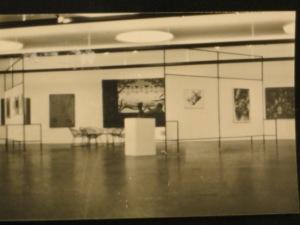 """""""A la recherche de Joelle"""", DMW 241.41.79, 215 / 365 cm, Öl auf Leinwand, Sammlung Gisy"""