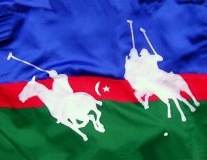 Aserbaidschan /Polo DMW 587.x.2 Seide-Applikation