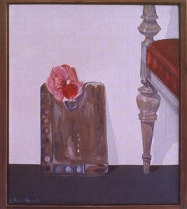 """DIETMAR MOEWS """"Kleine Palette"""" DMW 17.5.74 75 cm / 62 cm, Öl auf Leinwand in Springe gemalt"""