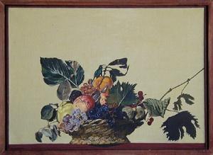 DMW 50.7.76 46 cm / 64,5 cm in Mailand und in Springe kopiert und gemalt, Öl auf Leinwand