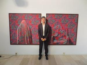 Dietmar Moews, 4.Mai in der Galerie Smend Mainzer Straße 31 Köln Südstadt