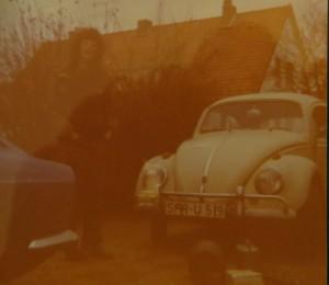 Der Zweitwagen VW 1200 für 40 Mark gekauft, diente zwei Jahre der Galerie M