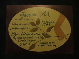 Neuabauer-Plakat Künstleroffset