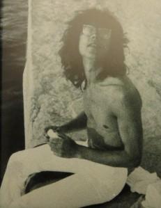 Dietmar Moews,1974 im Hafen von Formentera Baleares