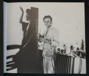 KAROLUS LODENKÄMPER Atelierbesuch in Düsseldorf 1974