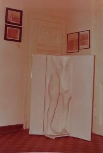 PETER MARGGRAF Polyester-Körper und Radierungen