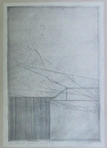 PETER MARGGRAF Radierung 1973