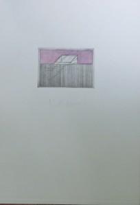 PETER MARGGRAF Radierung aus der Mappe Le Tout Petit Matin 1973