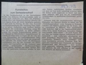 Studienabschluss von GERHARD MERKIN bei EGON NEUBAUER 1973