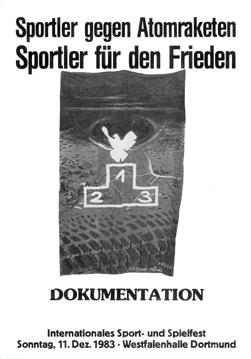 "DIETMAR MOEWS ""Endsport"" Titelbild der Dokumentation 1983"