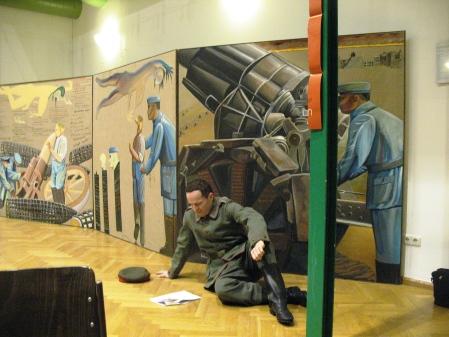 ZUGINSFELD THOMAS WIPF proklamiert im Goethe-Institut Dresden 2006
