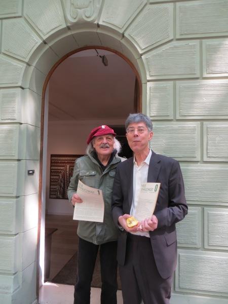 Neue Sinnlichkeit bei Köln Süd Offen! 2014 in der Galerie Smend mit DIETMAR MOEWS und FRANZ OTTO KOPP am 4. Mai 2014