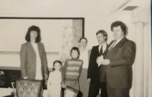 """DIETMAR MOEWS """"A la recherche de Joelle"""" DMW 271.20.80,155 cm / 287 cm, Öl auf Leinwand Hotel Vosshaus Südstradpromenade Burg auf Fehmarn"""