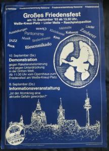 OSTERMARSCH-KOMMITEE / DIETMAR MOEWS Plakatentwurf