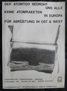 FOKKO VON VELDE Plakatentwurf