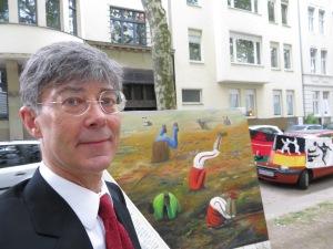DIETMAR MOEWS am 22. Juni 2014 auf der Mainzer Straße Köln Südstadt