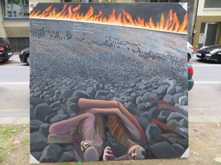 ZUGINSFELD 30 auf der Mainzer Straße in der Kölner Südstadt, am 4. Juli 2014