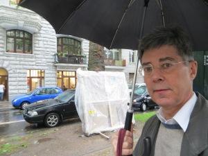 ZUGINSFELD bei Regen in der Mainzer Straße/nördlich Eierplätzchen) Köln Südstadt am 9. Juli 2014