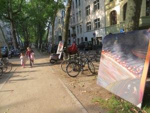 ZUGINSFELD in der Mainzer Straße am 14. Juli 2014