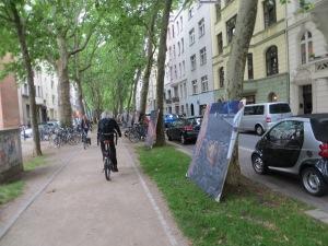 ZUGINSFELD am 15. Juli 2014 in der Mainzer Straße, Kölner Südstadt, nördlich Eierplätzchen