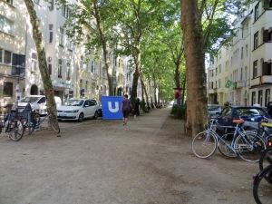 zUginsfeld am 18. Juli 2014 Mainzer Straße,nördlich Eierplätzchen,Köln Südstadt