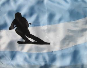 """DIETMAR MOEWS Sportflagge """"Argentinien"""""""