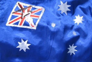 DIETMAR MOEWS Sportflagge AUSTRALIEN / Drachenfliegen