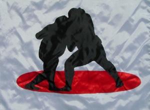 DIETMAR MOEWS Sportflagge Japan /Sumo