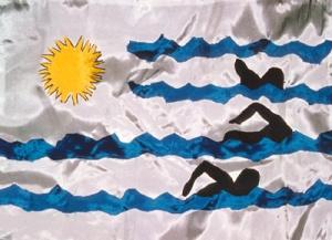 sportflagge_uruguay_schwimmen_zdf_1978