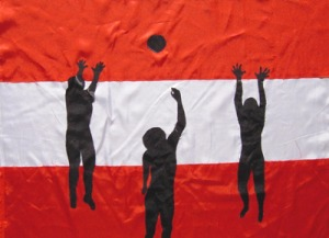 sportflagge_oestereich_volleyball
