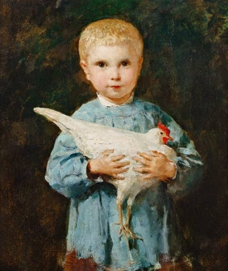 Maurice-Anker-mit-Huhn