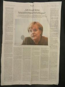 Dr. Merkel, CDU, am 17. Okt. 2015 im FAZ-Interview mit ohler, Frankenberger, von Altenbockum, S. 5+6