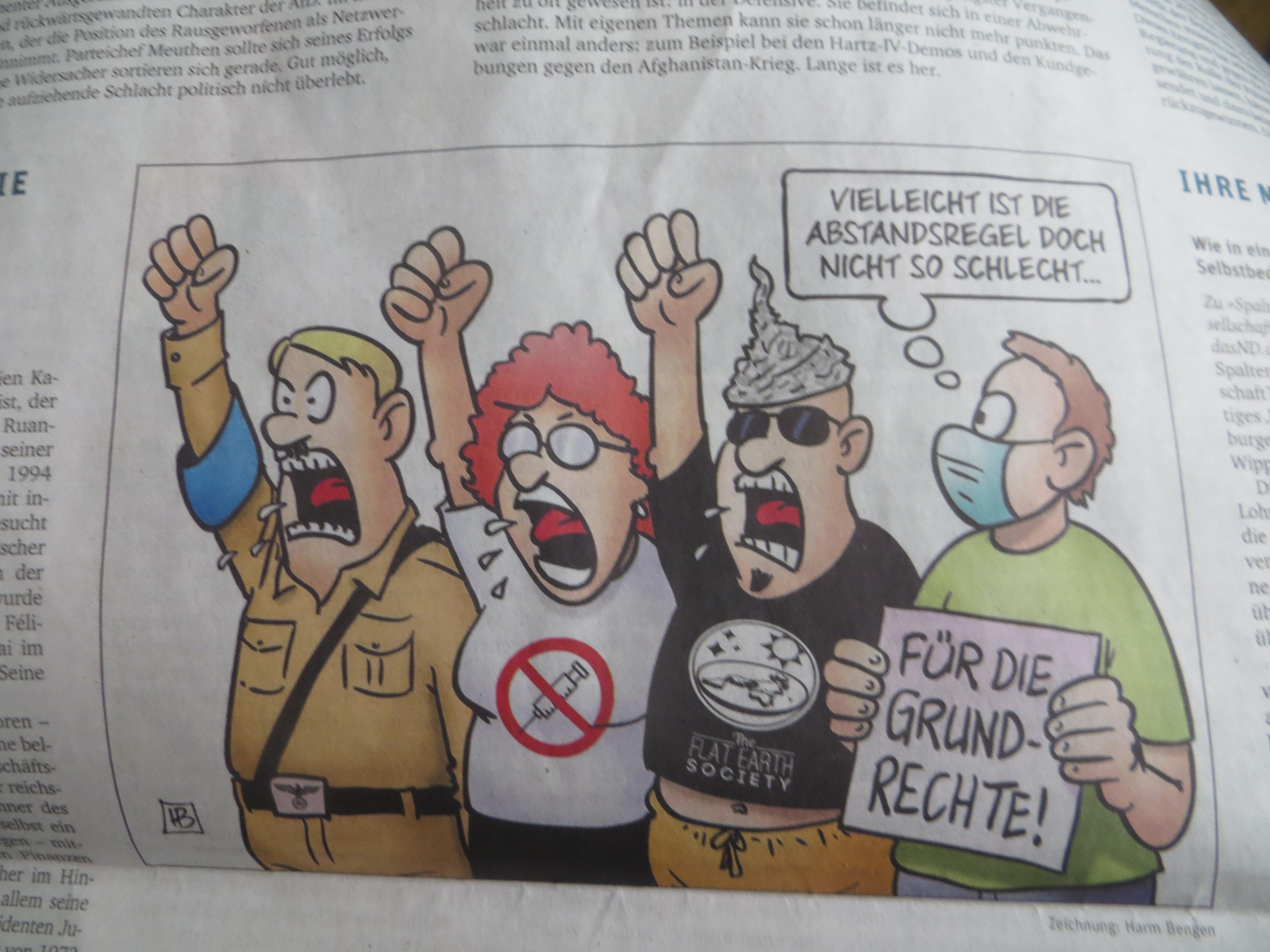 neues deutschland 19. Mai 2020